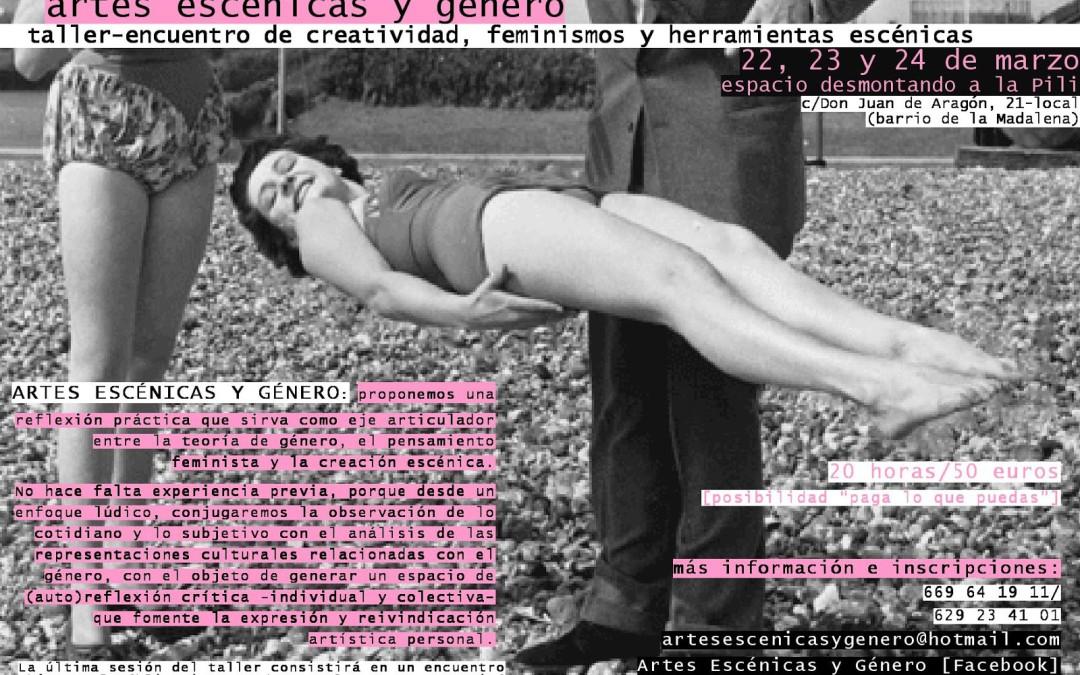 Taller Artes escénicas y Género