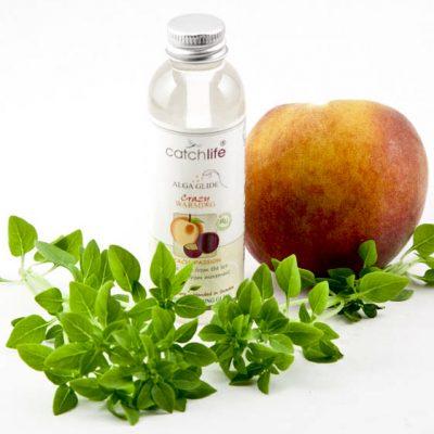 Lubricante vegano y orgánico Crazy de melocotón y fruta de la pasión con algas rojas