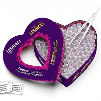 juego erótico corazón lésbico