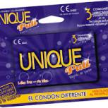 Preservativos no látex Unique, tarjeta de crédito