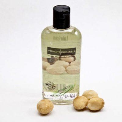 Lubricante sabor nueces de macadamia tostadas. Intimate Organics