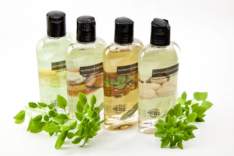 Linea de lubricantes ecológicos efecto calor de Intimate Organics