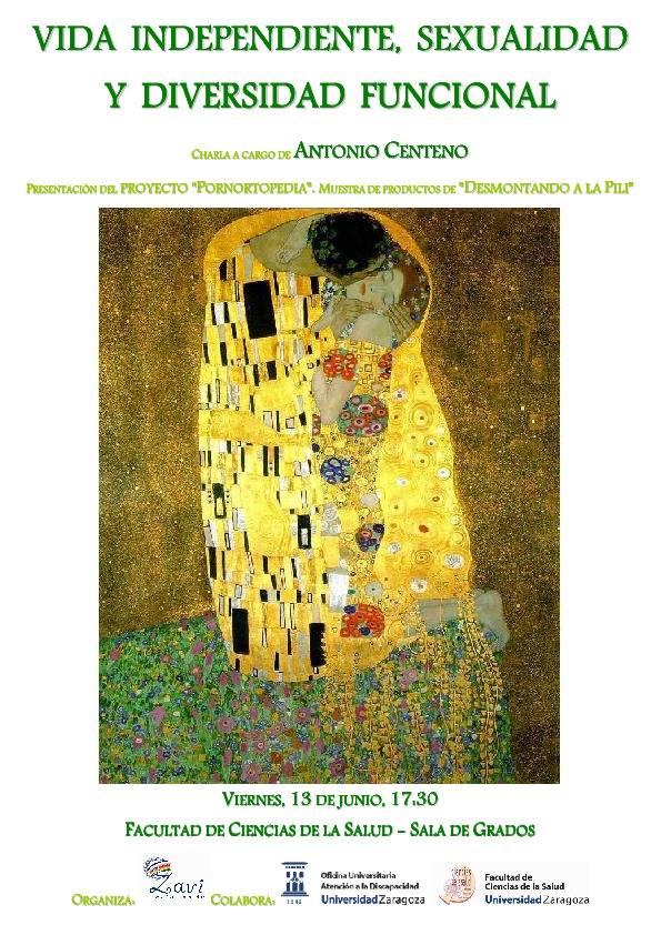 Vida independiente, sexualidad y diversidad funcional con Antonio Centeno.