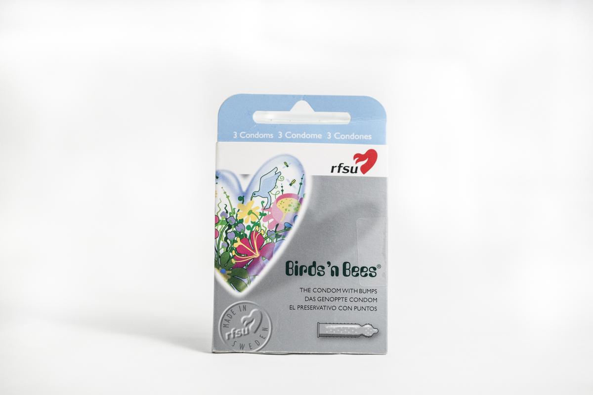 RFSU-birds-n-bees-flores-y-abejas, preservativos veganos