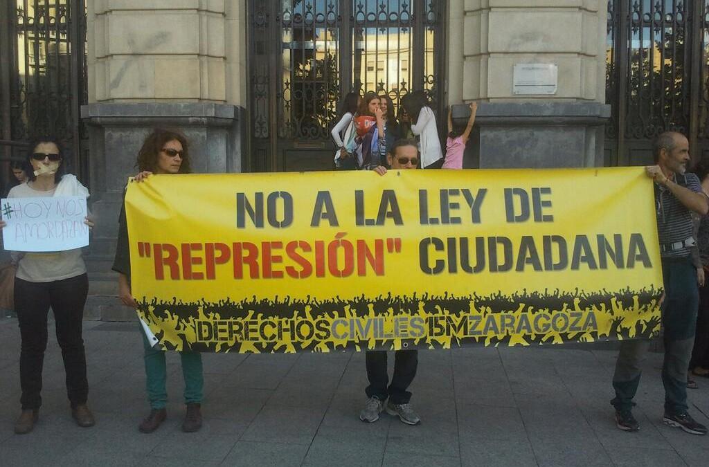 El Manifiesto por las libertades civiles trata de detener las derivas represivas en el Estado español y Europa.