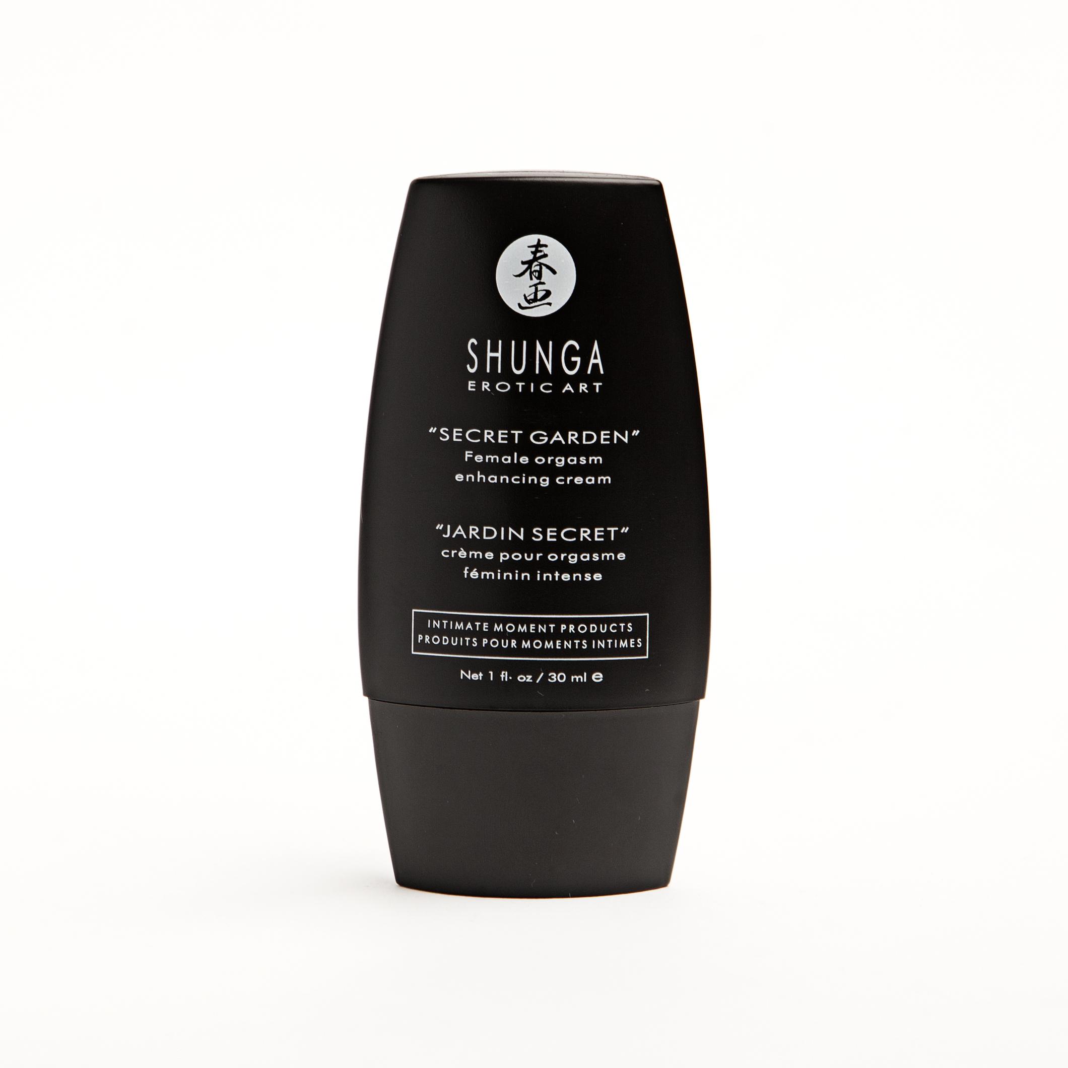 Gel estimulador jard n secreto de shunga desmontando a for Shunga jardin secreto