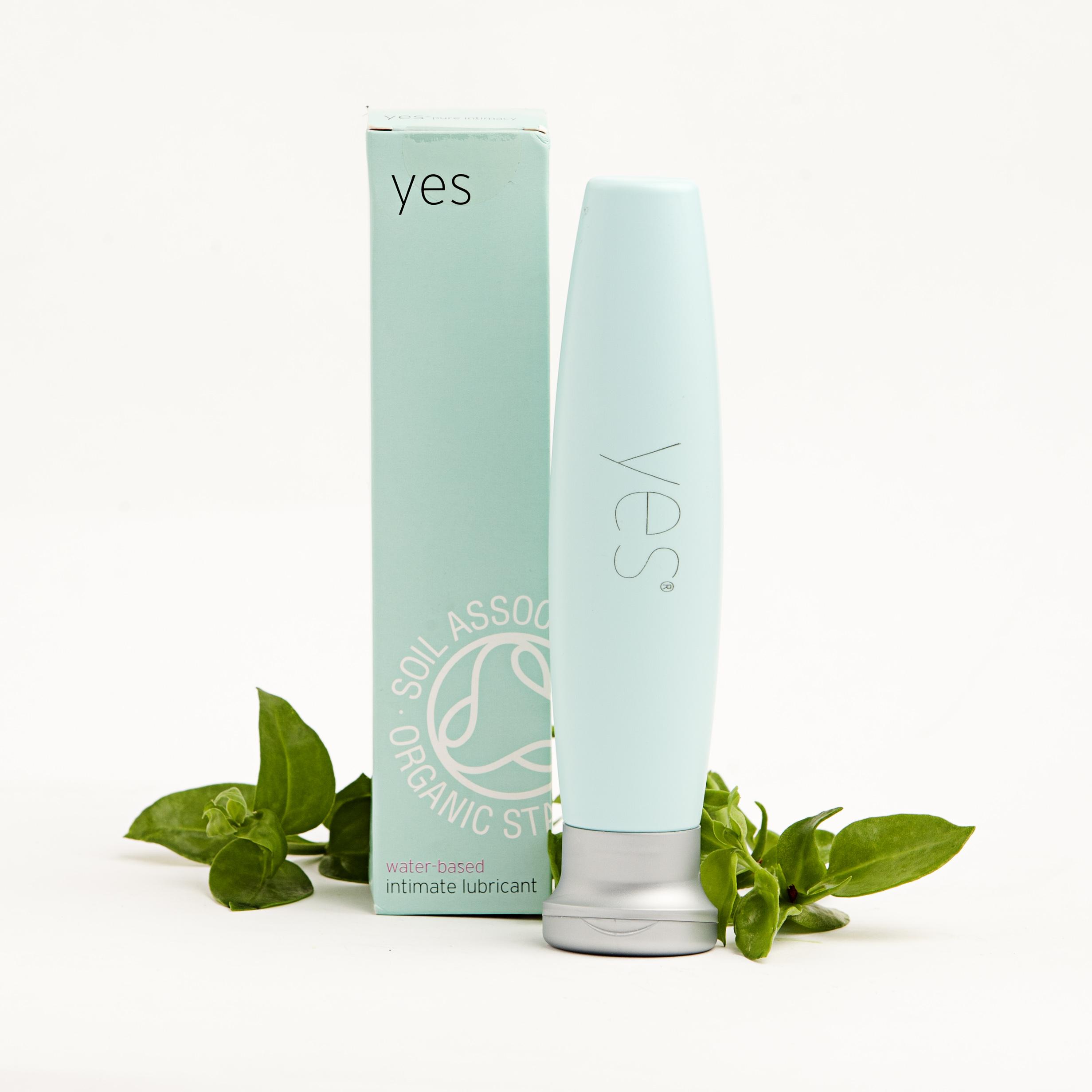 Lubricante Yes 75 ml, ecológico y vegano