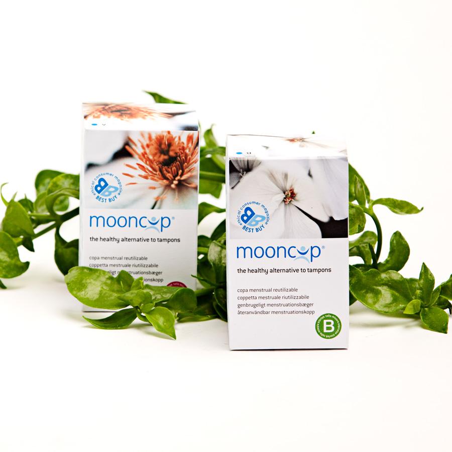 Mooncup copa menstrual, tampón de silicona y ecológico