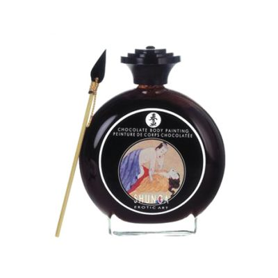 Pintura corporal de chocolate negro Shunga