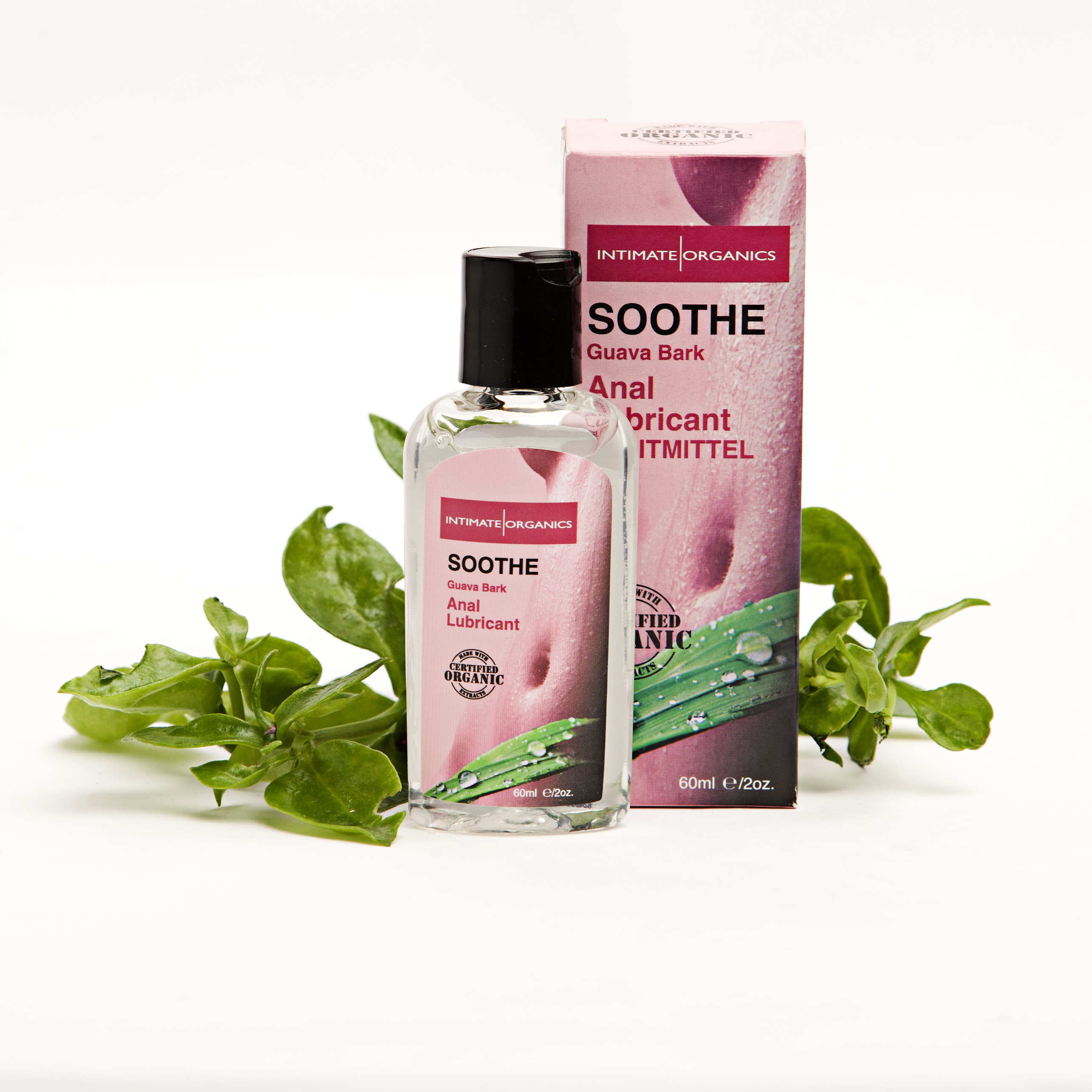Lubricante Soothe relajante anal antibacteriano