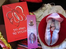 vulvas de peluche para educación afectivo sexual