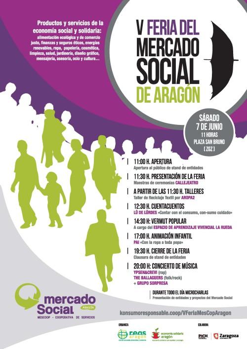 V Feria del Mercado Social Aragón