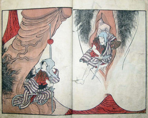 Shunga, arte erótico que nos encamina a la utopía sexual