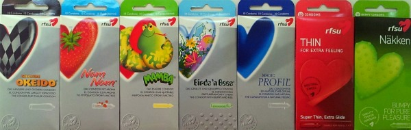 Preservativos-RFSU, preservativos veganos