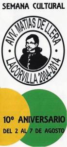 Tuppersex en la AVV. Matias de Llera, Lacorvilla 2004-2014