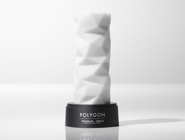 Poligon, TENGA 3 D, juguete masturbador para pene