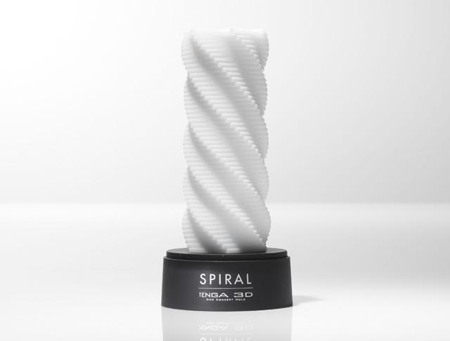 Spiral, TENGA 3 D, juguete masturbador para pene