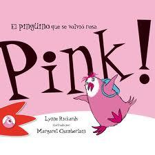 Pink! El pingüino que se volvió rosa