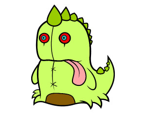 dinosaurio-monstruoso-monstruos-pintado-por-gerlst-9743969