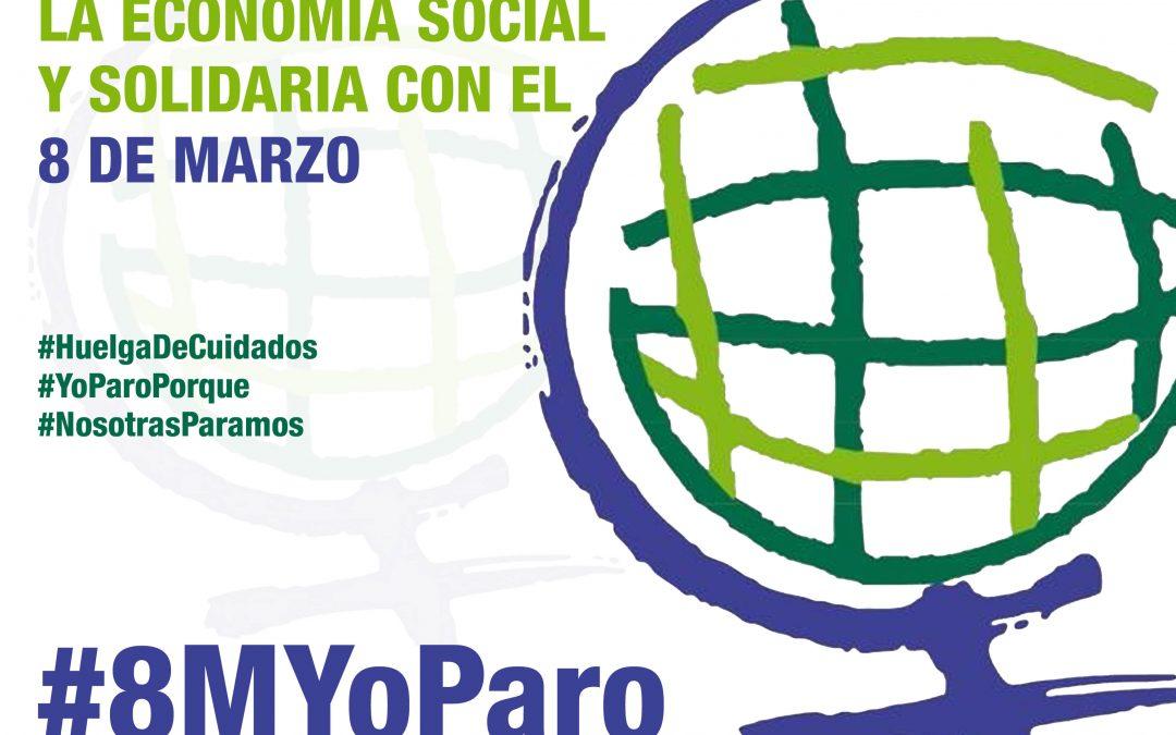 La Economía Social y Solidaria es Feminista: 8M PARAMOS