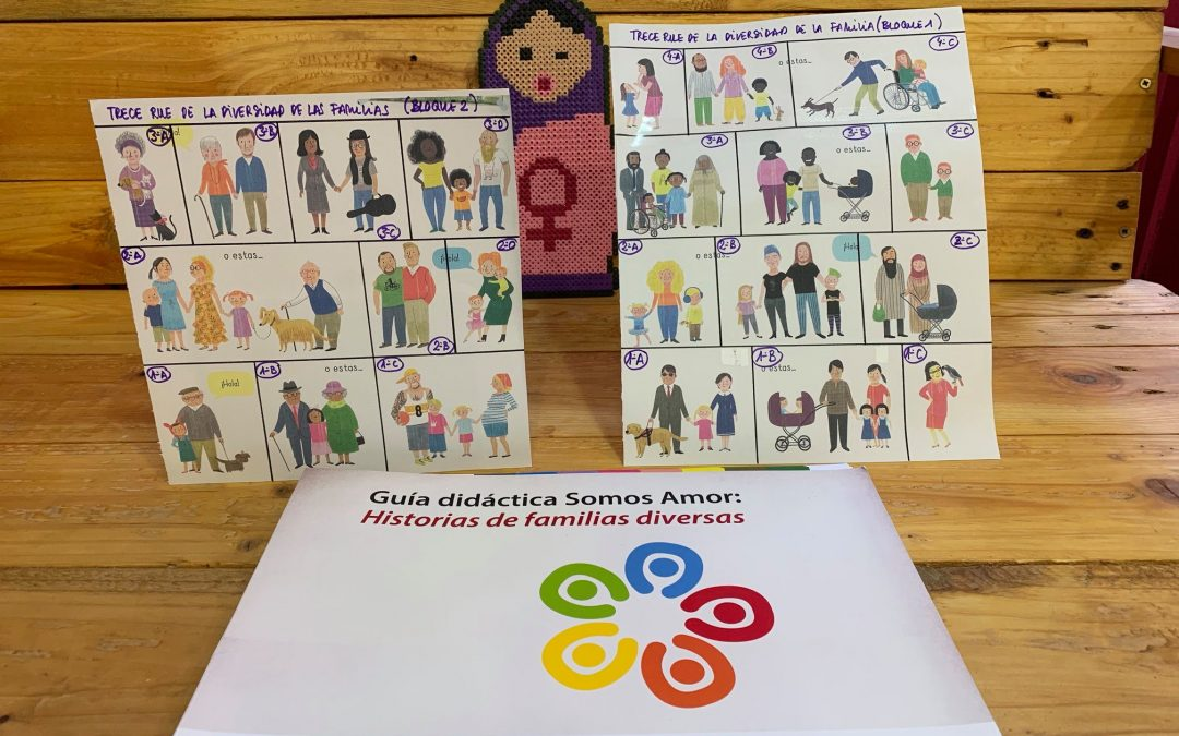 Taller – Somos amor: Diversidad sexual y familiar